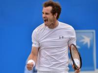 Andy Murray warms up for Wimbledon with record-equalling fourth Queen's title