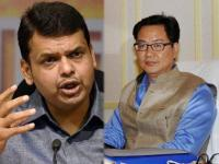Fadnavis then Kiren Rijiju: Sorry mantri-ji, you are the 'technical delay' in Air India flights