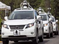 The future is here! Google's self-driving cars hit the streets for a test drive
