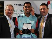 Captain Dhoni's heroics in charity T20 earn Indian Army 20,000 pounds