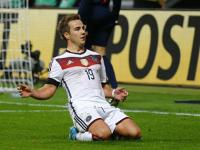 Goetze helps Germany go top, Northern Ireland move closer to Euro 2016