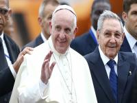 Pope Francis on landmark trip to Cuba