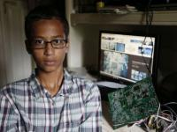 Muslim teen arrested in Texas after teacher, police decide the clock he invented was a 'bomb'