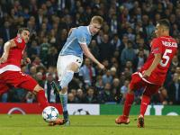 Late, late goal from Kevin de Bruyne gives Manchester City second Group D win