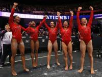 Led by Maggie Nichols, US women roll to 3rd straight world gymnastics title