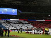 Watch: 70,000 football fans unite at Wembley to honour Paris victims with a moving rendition of 'La Marseillaise'