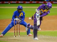 Cricket All-Stars: Sangakkara shines as Warne's Warriors thump Tendulkar's Blasters to seal series in Houston