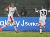 ISL: NorthEast United's 'restless' journeyman striker Kamara and the legacy of his celebration