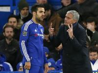 'We will all miss you': Out-of-favour Cesc Fabregas bids farewell to Jose Mourinho