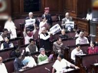 Rajya Sabha sees adjourments on VK Singh's remarks in Dalits, Mohan Bhagwat's comments on Ram temple
