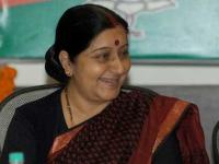 Opposition slogans drown out Sushma's statement on Pakistan