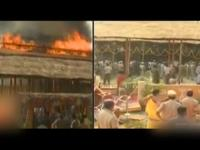Fire mishap at KCR's Yagam, President's visit cancelled