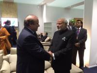 In Paris, some India-Pak warmth on the side as Modi sends out 'not our fault' message on climate change