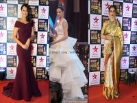 Gowns and saris galore at the Screen Awards as <b>Sonakshi</b> <b>Sinha</b>, Shilpa Shetty steal the show