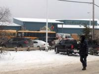 Five dead and two injured in Canada school shooting, suspect arrested