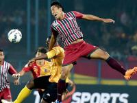 <b>I-League</b>: Spicy buildup leads to a bland Kolkata Derby as Mohun Bagan, East Bengal settle for 1-1 draw
