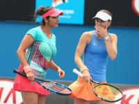 Australian Open: 'Santina' through to semis, Sania vs Martina in mixed-doubles quarters