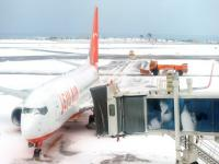 Airport reopens after biggest snowfall in three decades strands 86,000 on South Korea island