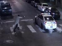 Islamic State sympathiser ambushes and shoots Philadelphia police officer