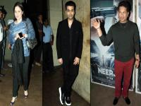 From Karan Johar to Sachin Tendulkar: Celebs in full attendance at 'Neerja' screening
