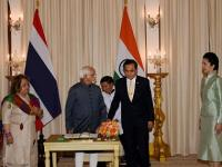 People-to-people contacts are the lifeblood of India and Thailand's friendship: <b>Hamid</b> <b>Ansari</b>