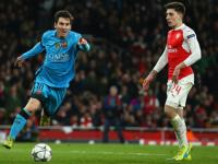 Champions League: Messi breaks Cech jinx as Barcelona beat feisty Arsenal 2-0