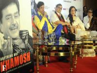 Amitabh Bachchan launches Shatrughan Sinha's biography, 'Anything but Khamosh'
