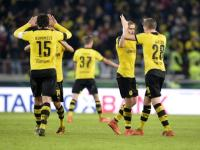 Borussia Dortmund, Werder Bremen reach German Cup semis with 3-1 wins