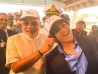 Who's a good boy? PM Modi and Akshay Kumar's son Aarav share a light moment