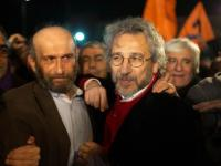 Editor-in-chief and bureau head of Turkish daily released: Duo was jailed for reports accusing govt of arming Islamists