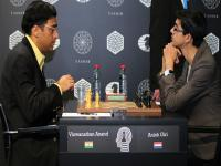 Candidates Chess: <b>Viswanathan</b> <b>Anand</b> draws with Anish Giri, loses the right to challenge Magnus Carlsen for first time since 2008
