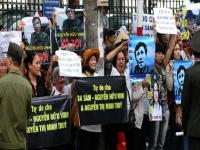 Protests break out in Vietnam after popular blogger goes on trial