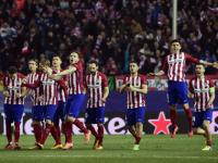 Champions League: Atletico reach quarters, edging out <b>PSV</b> <b>Eindhoven</b> in 15-goal penalty thriller