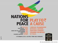 A collective endeavor 'Play for a Cause' to uphold the language of peace