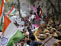 JNU students march to Parliament, demand repeal of sedition law