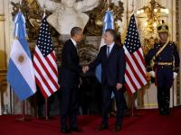 New era in US-Argentina relations begins: Military band, honour guard welcome Barack Obama to Buenos Aires