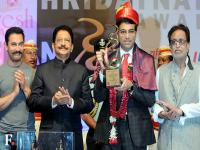 Grandmaster <b>Viswanathan</b> <b>Anand</b> honoured with the Hridaynath Award