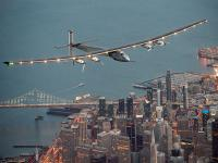 Solar-powered plane lands in California after risky flight across Pacific Ocean