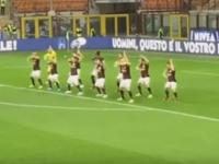 AC Milan do the 'Haka' before Serie A match, get lambasted on social media