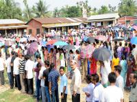 Assembly elections: Voters line up to cast their ballot in Assam, West Bengal