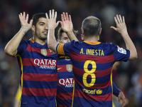 La Liga roundup: Barcelona sink ten-men Betis, Real, Atletico win to keep title race alive
