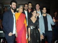 Family portrait: The illustrious cast and crew of Kapoor & Sons celebrate the film's success