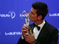 After dominating tennis in 2015, Novak Djokovic and <b>Serena</b> <b>Williams</b> win top Laureus awards