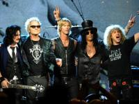 Say hello to the reunited Guns 'n' Roses: Axl Rose and Slash perform together after two decades