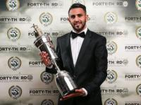 Simply the best! Leicester's Riyad Mahrez voted Premier League's player of the year