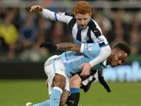 Premier League: Relegation-threatened <b>Newcastle</b> <b>United</b> stall Manchester City's CL qualification bid