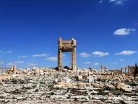 Graves of 42 victims of Islamic State, including three children, found in Syria's Palmyra