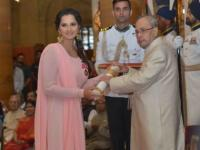 'Humbled, honoured, truly thankful': Sania Mirza conferred with the Padma Bhushan
