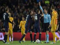 'There is fear that Barca will be eliminated': Torres lashes out after red card in Atletico's Champions League loss