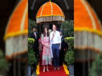 Royal diary: On Day 1 of India visit, Prince William and Kate Middleton play charity cricket, dine with Bollywood